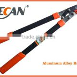 Aluminum handle manual hedge shears