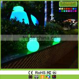 PE Material Garden Used Led Magic Ball Light,Led Glow Beach Ball,Color Changing Stress Ball Waterproof Led Light Ball