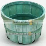 AQUA WASH ROUND BAMBOO CHIP BASKET