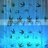 home glowing water bubble acrylic bamboo tube decorative bamboo wall panel