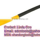 OEM orders top quality cheap drop forged hand tools factory pickaxe with Fiberglass handle