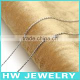 40619 machine made 925 sterling silver chains