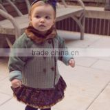European Fashion Designer Baby Clothes Girl Baby Clothes China Infant Coat Baby Girls Winter Coat