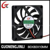 Manufactory Selling 80 X 80 X10 Mm 12V DC Fan with UL 8010