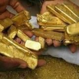 gold powder nugget and ingots