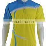 China factory price custom polo jersey polo shirt