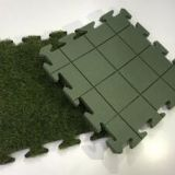 208816-XO Tile With PE Foam Interlocking Artificial Grass
