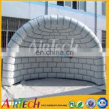 Fire resistant party tent clear, inflatable shell tent, tunnel tent for advertising event