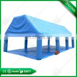 Large inflatable gazebo tent play cards for event fire-retardant event use Inflatable sealed air dome or gazebo tent dome tent