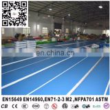 factory directly supply inflatable gym mat,inflatable gym air track,Korea DWF inflatable air gym track tumbling mat
