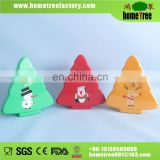 4PC Christams Tree Plastic Food Keeper Set Keep Fresh Box