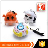 ali baba express funny small pvc toy hang rope ghost detector for halloween