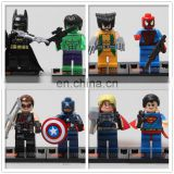 DIY Brain Games Children's building blocks kids toys plastic superhero batman vs superman figure block