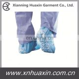 Soft Nonwoven PP Shoecover with Embossed Sole