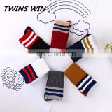 Latest korean kids popular wholesale custom long length winter colorful cotton warm cartoon tube socks