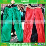 Wholesale Used Clothing 3/4 Pants Used Clothes Shoes