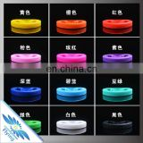 Custom Flag Silicon Fluorescent Wristband QR code Rubber Bracelet Stylish Bright Color Brand