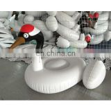 Giant Red-crowned cranes Inflatable float Ride-On Pool Toy