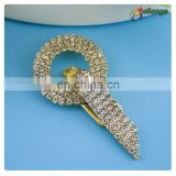 Bailange wholesale rhinestone belt buckle clasp belt buckle for wedding dresses