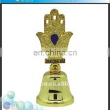 2018 New Product Jerusalem Souvenir Gold Unique Metal Dinner Bell