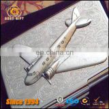 Stainless Steel Aircraft Shape Custom LOGO Laser Business Card
