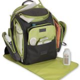 good new waterproof diaper backpack set with changing pad