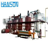 Edible crude palm oil refinery machine castor sesame oil refinery production line