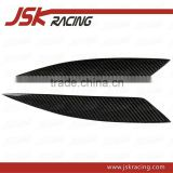 2003-2009 CARBON FIBER FRONT EYELIDS EYEBROWS FOR MAZDA RX8 (JSK180201)