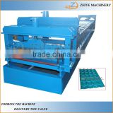 Building Material Glazed Roofing Panels Forming Machine /Rolling Roofing Sheet Making Line