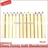 Disney Universal NBCU FAMA BSCI GSV Carrefour Factory Audit Manufacturer School Stationery Set Color Pencil