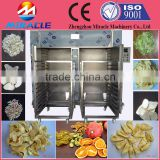 Widely application hot air circle fruits slice dryer/vegetable drying cabinet by hand utility cart