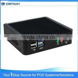 DTKBT19A Quad Core Bay Trail Ultra Thin Fanless Nano Computer Support Win 8 / Android Mini PC