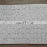 white blank sublimation puzzle, white blank jigsaw puzzles