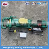 Jining hengwang 2016 Portable rock drill machine/air compressor jack hammer/Pneumatic rock drill