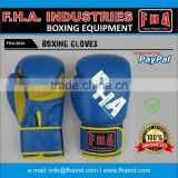 Boxing Gloves Training Made of PU / Leather Boxing Equipment by FHA INDUSTRIES SIALKOT PAKISTAN