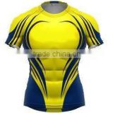 Fashionable rugby clothing with sublimation