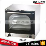 hot sale commercial Food & Beverage Machinery bread pizza electric convection oven EB-4F