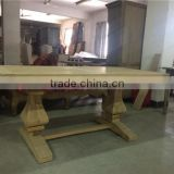 antique furniture recycled wood/wooden dining table