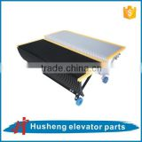 escalator chain step roller, Escalator Step without Yellow Demarcation Line