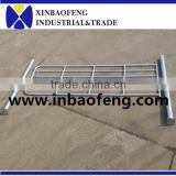 Steel pipe farm gates for livestock