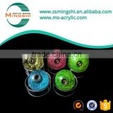 25mm solid transparent colorful plastic ball,acrylic ball for handle acrylic handle with mental