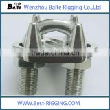 Stainless steel 316 Powder coated us type drop Japanese metal Wire Rope Clip in Rigging