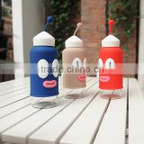 Guangzhou Factory High Quality Cute Glass drink Water Bottle