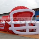 Giant inflatable football helmet tunnel for sale