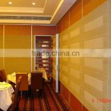 china manufacturer aluminium high quality movable wall for vip room
