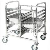 Gastronorm Trolley Stainless Steel 6 Tray