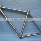 Hottest style 3AL2.5V internal cable routing WTL-S074 titanium road bike frame