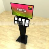 Swdex Wave 50 Inches Remote Control Advertising Display Kiosk Stand 4K Tough Panel DIgital Signage