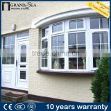 Inquiry about Simple grill design balcony designs plastic PVC bay glass window