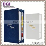 cafe menu cover High quality hotel restaurant supplies /leather menu cover / restaurant menu board
